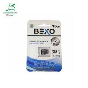 کارت حافظه 16 گیگ Bexo microSDHC کلاس 10- فروشگاه دیجیتال سیب تل