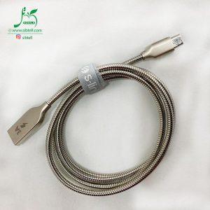 کابل شارژ میکرو مدل S-LINK با قابلیت شارژ 3 آمپر