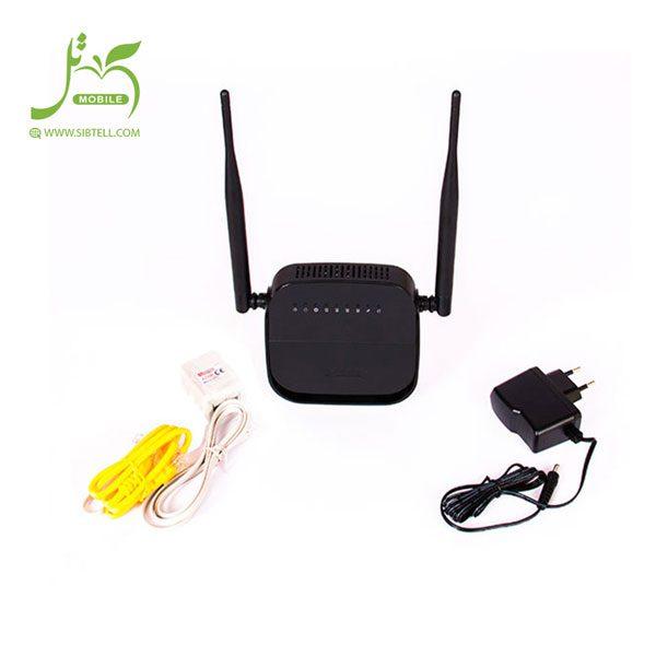 مودم روتر ADSL2 Plus بی سیم N300 دی-لینک مدل DSL-124